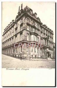 Ansichtskarte AK Windsor Hotel Glasgow