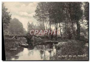 Ansichtskarte AK Le Pont De La Foret