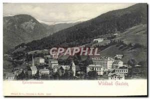Ansichtskarte AK Kaiserpromenade Wildbad Gastein