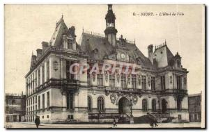 Ansichtskarte AK Niort L'Hotel De Ville