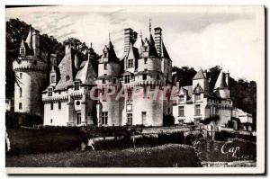Moderne Karte Usse Le Chateau Vue d'ensemble