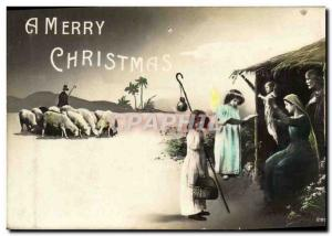 Ansichtskarte AK A Merry Christmas Noel