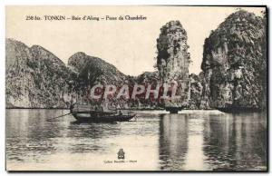 Ansichtskarte AK Tonkin Baie d'Along Passe Du Chandelier Vietnam