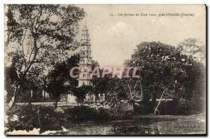 Ansichtskarte AK Les Jardins De Kiah Luoc Pres D'Hanoi Tonkin Vietnam