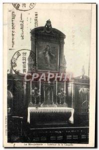Ansichtskarte AK La Moujatterle Interieur de la chapelle