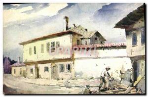 Ansichtskarte AK Beograd Stari dio grada