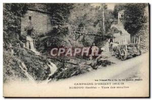Ansichtskarte AK Campagne D'Orient 1914 1918 Bukovo Vues des moulins Militaria