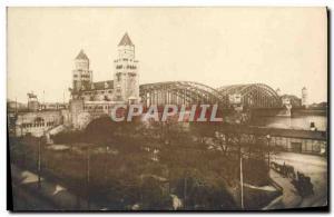 Ansichtskarte AK Pont Allemagne
