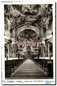 Ansichtskarte AK Zwiefalten Ineres der Munsterkirche