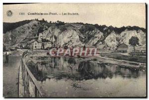 Ansichtskarte AK Comblain au Pont Les Rochers