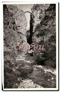 Ansichtskarte AK La Route Des Alpes St Paul L'Ubaye Pont Du Chatelet