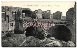 Ansichtskarte AK Greoux Les Bains Interieur Du Chateau Des Templiers