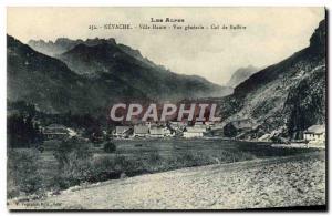Ansichtskarte AK Les Alpes Nevache Ville Haute Vue Generale Col De Buffere