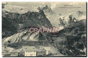 Ansichtskarte AK Les Alpes La Grave Et La Chaine De La Mejie