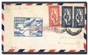Lettre Portugal Azores to USA 27 5 1939