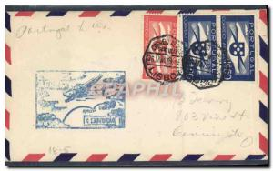 Lettre Portugal to USA 26 5 1939