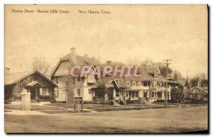 Ansichtskarte AK Norton Street Beaver Hills Estate New Haven Conn