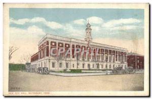 Ansichtskarte AK New City Hall Waterbury Conn