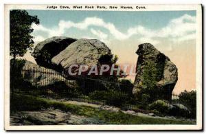 Ansichtskarte AK Hudge Cave West Rock Park New Haven Conn