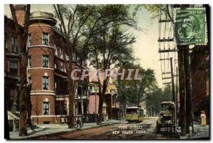 Ansichtskarte AK York Street New Haven Conn
