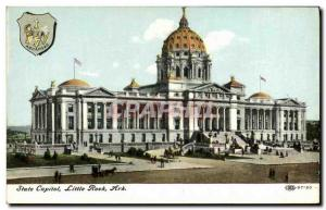 Ansichtskarte AK State Capital Little Rock Ark