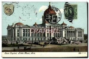 Ansichtskarte AK State Capitol Little Rock Ark