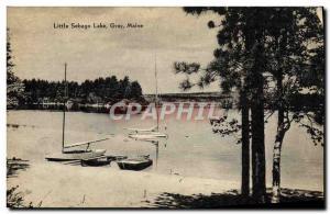 Ansichtskarte AK Little Sebago Lake Gray Maine