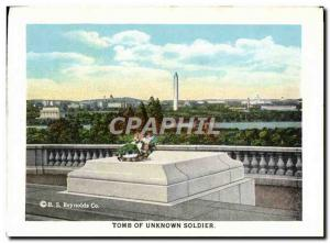 Moderne Karte Tomb Of Unknown Soldier Mast Of The Maine