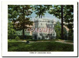 Moderne Karte Tomb Of Unknown Dead Kearny statue
