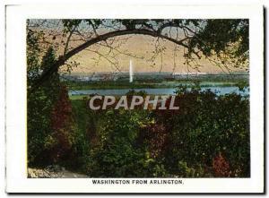 Moderne Karte Washington From Arlington