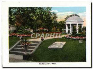 Moderne Karte Temple Of Fame Confederate memorial