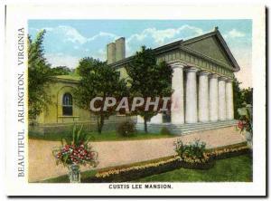 Moderne Karte Beautiful Arlington Virginia Custis Lee Mansion