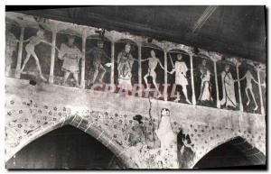Moderne Karte Plouha Chapelle De Kermaria An Isquit L'interieur Fresque
