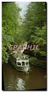 Moderne Karte Through The Hole Riverview Boat Line Wisconsin Dells Wisconsin Bateau