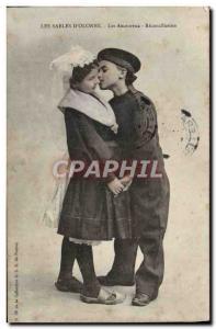 Ansichtskarte AK Les Sables D'Olonne Les Amoureux Reconciliation Enfants
