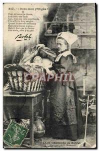 Ansichtskarte AK Dors Mon P'tit Gas Botrel Folklore