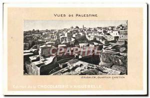 Ansichtskarte AK Vues De Palestine Chocolaterie d'Aiguebelle