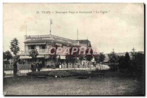 Ansichtskarte AK Vichy Nouveaux Parcs et Restaurant La Cigale