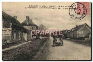 Ansichtskarte AK Automobile Circuit de la Sarthe La descente de la Belle inutile pour arriver aux tribunes