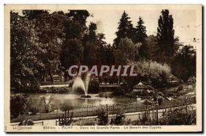 Ansichtskarte AK Vichy Dans les Grands Parcs Le Bassin des Cygnes