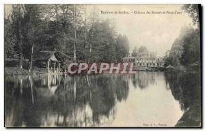 Ansichtskarte AK Environs de Gaillon Chateau des Rotoirs et piece d'eau