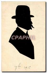 Ansichtskarte AK Contre la lumiere Homme