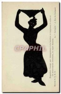 Ansichtskarte AK Contre la lumiere Femme