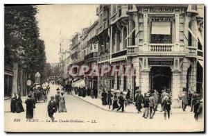 Ansichtskarte AK Banque Vichy La Rue Cunin Gridaine Societe Generale