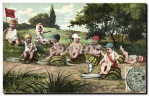 Ansichtskarte AK Escargot Enfants