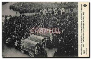 Ansichtskarte AK Les zeppelins du Paris Les Funerailles nationales des victimes