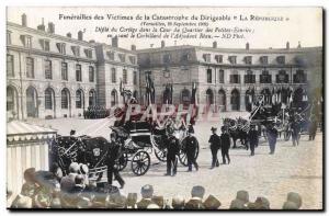 Ansichtskarte AK Versailles Funerailles nationales des victimes du Dirigeable Republique Defile du cortege