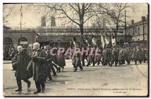 Ansichtskarte AK Nancy Obseques du general Houdaille commandant la 11eme division