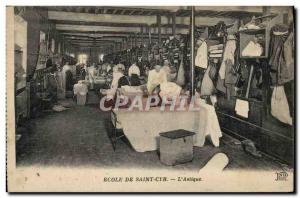 Ansichtskarte AK Ecole de Saint Cyr L'astique Militaria