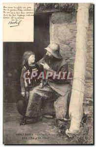 Ansichtskarte AK Folklore Botrel Les chansons de Botrel illustrees Le p'tit gas Marin Pecheur